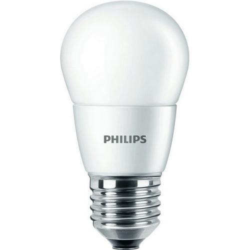 LED žárovka E27 Philips P48 7W (60W) neutrální bílá (4000K)