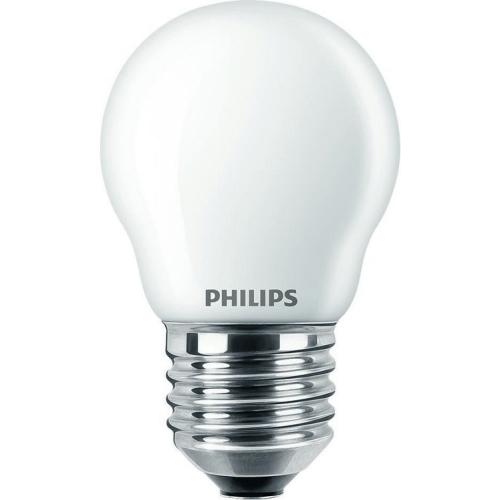 LED žárovka E27 Philips P45 CLA FR 2,2W (25W) teplá bílá (2700K)