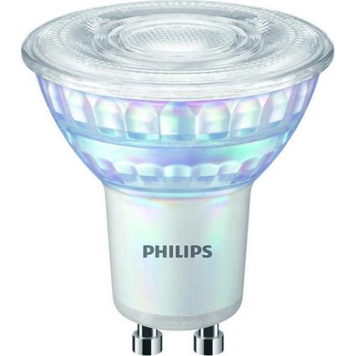LED žárovka GU10 Philips MV 4W (35W) teplá bílá (3000K) stmívatelná, reflektor 36°