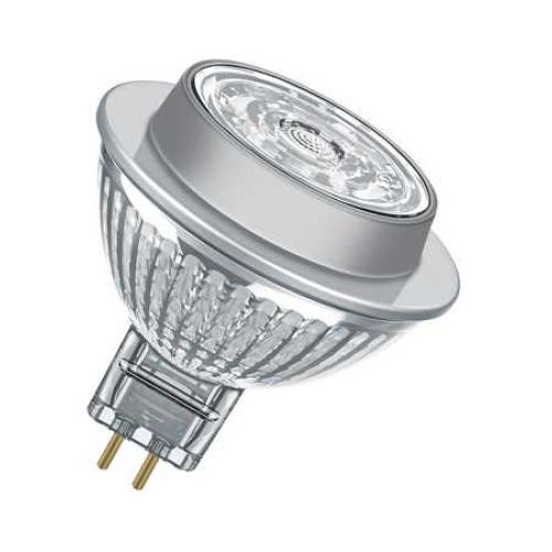LED žárovka GU5,3 MR16 Osram PARATHOM 7,2W (50W) teplá bílá (2700K), reflektor 12V 36°