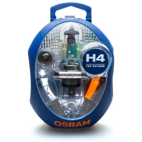Sada autožárovek Osram CLKM H4 64193 60/55W 12V P43t