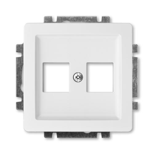 ABB Swing (L) kryt datové zásuvky jasně bílá 5014G-A02018 B1