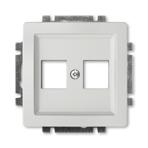 ABB Swing (L) kryt datové zásuvky světle šedá 5014G-A02018 S1
