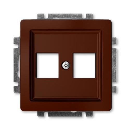 ABB Swing (L) kryt datové zásuvky hnědá 5014G-A02018 H1