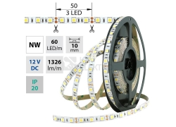 LED pásek McLED SMD5050 14,4W/m 12V IP20 10mm 60LED/m ML-121.665.60.2