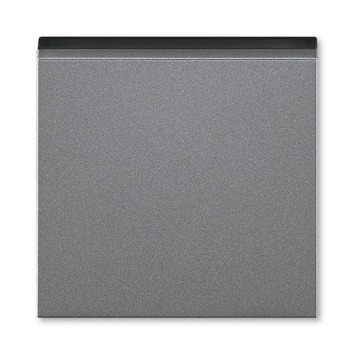 ABB Levit kryt vypínače ocelová/kouřová černá 3559H-A00651 69