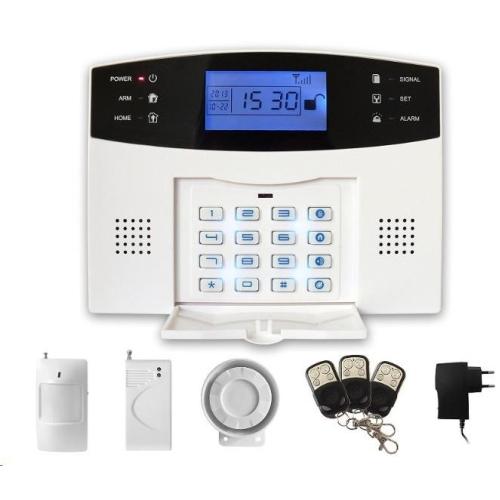 Domácí alarm GSM set zabezpečovacího systému iGET SECURITY M2B, CZ lokalizace