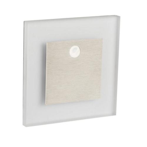 Orientační svítidlo Kanlux APUS LED PIR CW studená bílá, s pohybovým čidlem 27371