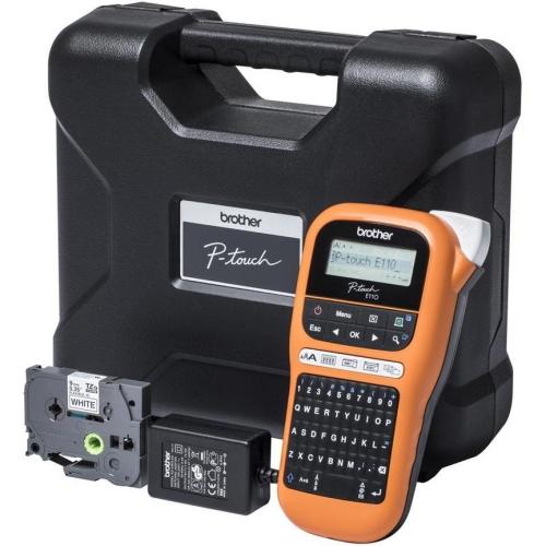 Popisovač štítků Brother PT-E110VP s kufříkem