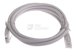 Kabel datový EMOS CAT.5E UTP 2m (patchkabel) S9123