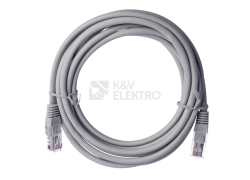Kabel datový EMOS CAT.5E UTP 3m (patchkabel) S9124