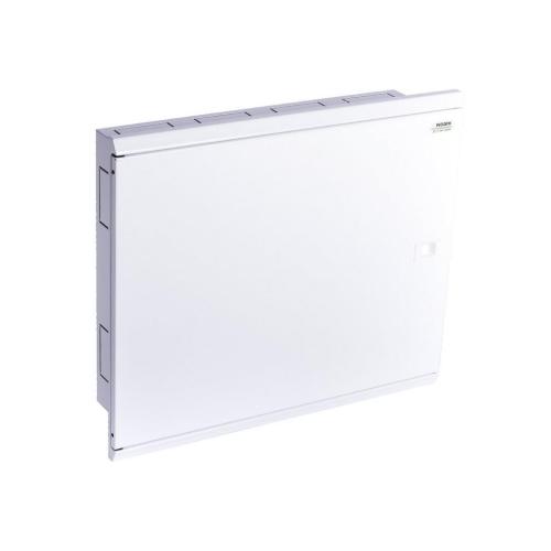Rozvodnice pod omítku NOARK EMFF3 72W bílé plechové dveře 109810