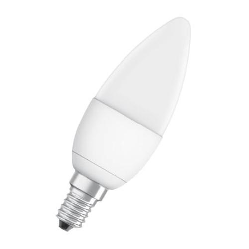 LED žárovka E14 PILA B35 FR 8W (60W) teplá bílá (2700K), svíčka