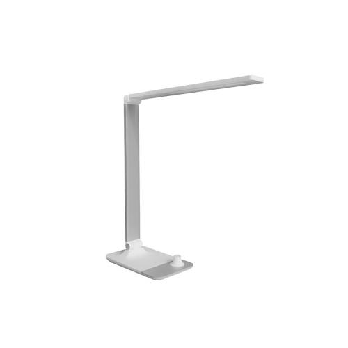 Stolní lampička LED Panlux MASTER bílá s bezdrátovým nabíjením nočním světlem stmívací PN15300020