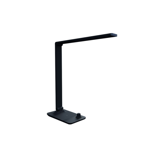 Stolní lampička LED Panlux MASTER černá s bezdrátovým nabíjením nočním světlem stmívací PN15300022