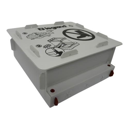 Plastová instalační krabice do betonové podlahy Legrand 088191 pro 12 a 18 modulů