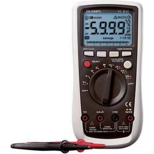 Digitální multimetr VOLTCRAFT VC-830 124601