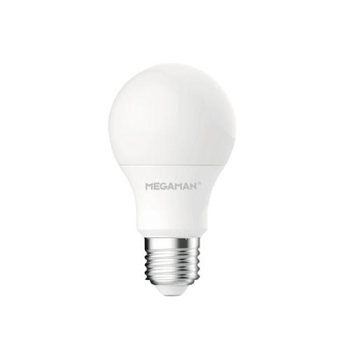 LED žárovka E27 Megaman A60 9,5W (60W) teplá bílá (2800K)