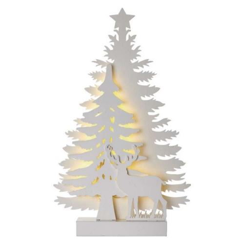 LED vánoční stromek EMOS ZY2207 2xAA vnitřní použití teplá bílá s časovačem