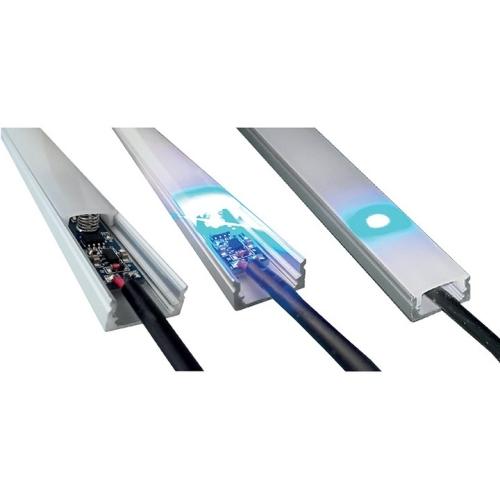Spínač/stmívač McLED pásku do hliníkových profilů 12/24V ML-113.002.02.0