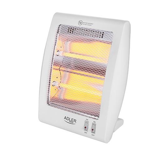 Přenosný infrazářič Adler AD 7709 400/800W