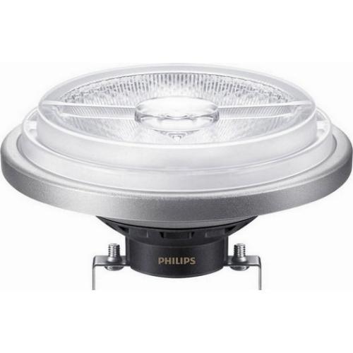 LED žárovka G53 AR111 Philips ExpertColor 11W (50W) teplá bílá (2700K) stmívatelná, reflektor 12V 40