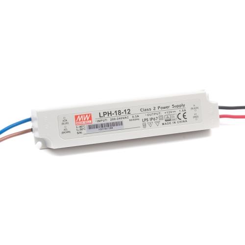Napájecí zdroj MEAN WELL pro LED 12V 18W LPH-18-12
