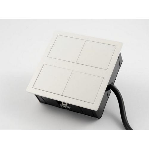 Krabice VersaHIT 06015E00008 DUAL 2x230V bílá