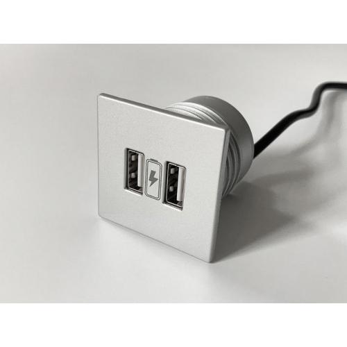 Napájecí USB HUB VersaPICK 06029P00005 2xUSB hliník