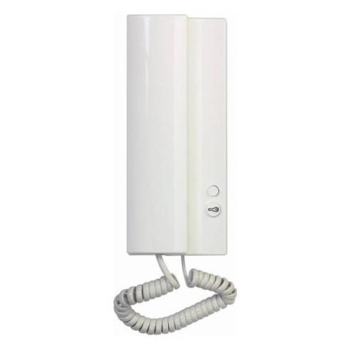 Telefon domovní TESLA 4FP 211 02.201/C ELEGANT bílý s piezoakustickým měničem