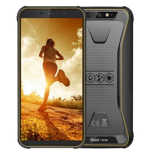 Odolný chytrý telefon iGET BLACKVIEW GBV5500 Pro Yellow 3GB/16GB