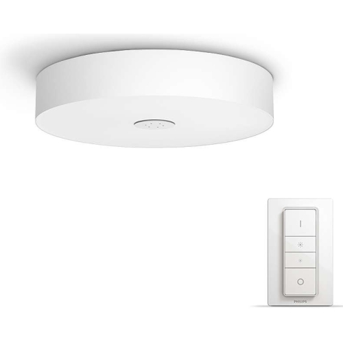 Bluetooth LED stropní svítidlo Philips Hue Fair BT 40340/31/P6 bílé 2200-6500K s dálkovým ovládačem