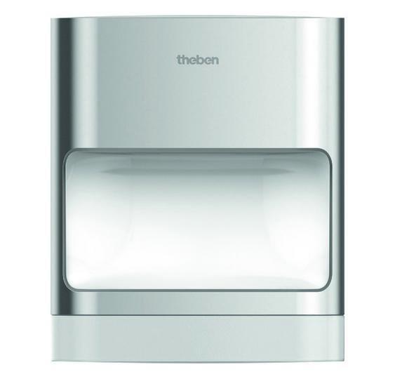 LED nástěnné svítidlo s čidlem pohybu THEBEN theLeda D SU AL 14W IP55 1020902