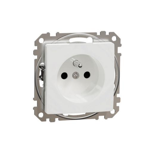 Schneider Sedna Design/Elements zásuvka bílá SDD111011