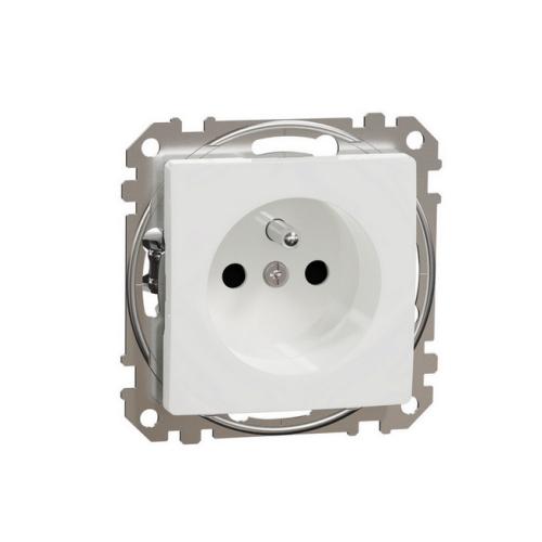 Schneider Sedna Design/Elements zásuvka bezšroubová bílá SDD111012