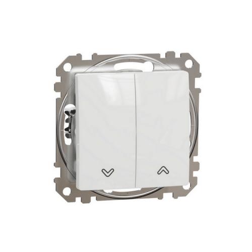 Schneider Sedna Design/Elements žaluziový spínač bílá SDD111104