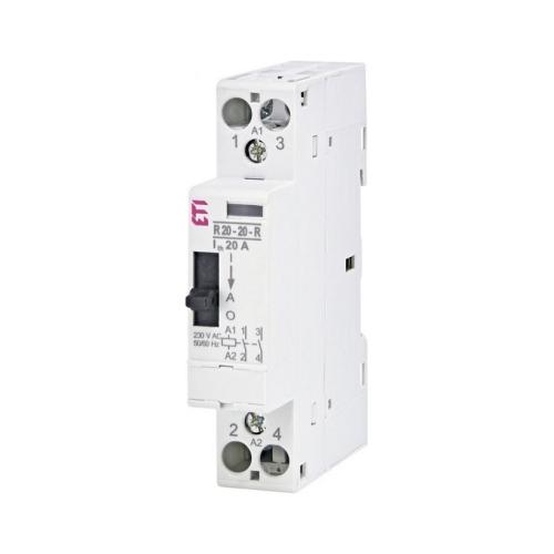 Instalační stykač ETI R 20-20-R-230V AC 20A 2NO 002464040
