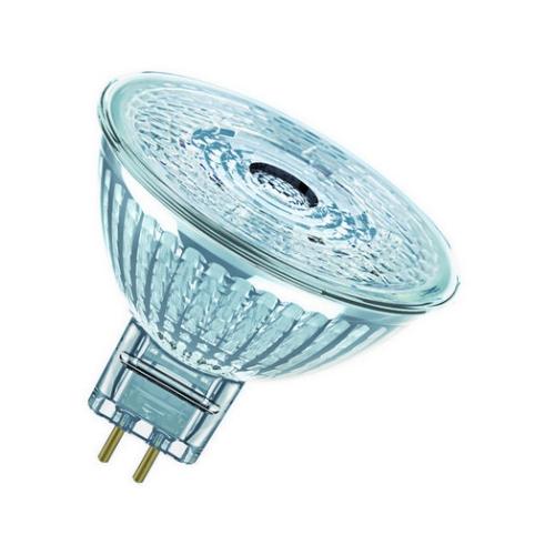 LED žárovka GU5,3 MR16 Osram PARATHOM 2,6W (20W) teplá bílá (2700K), reflektor 12V 36°