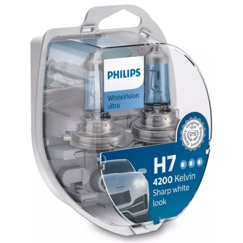 Autožárovka Philips WhiteVision ultra 12972WVUSM H7 PX26d 12V 55W